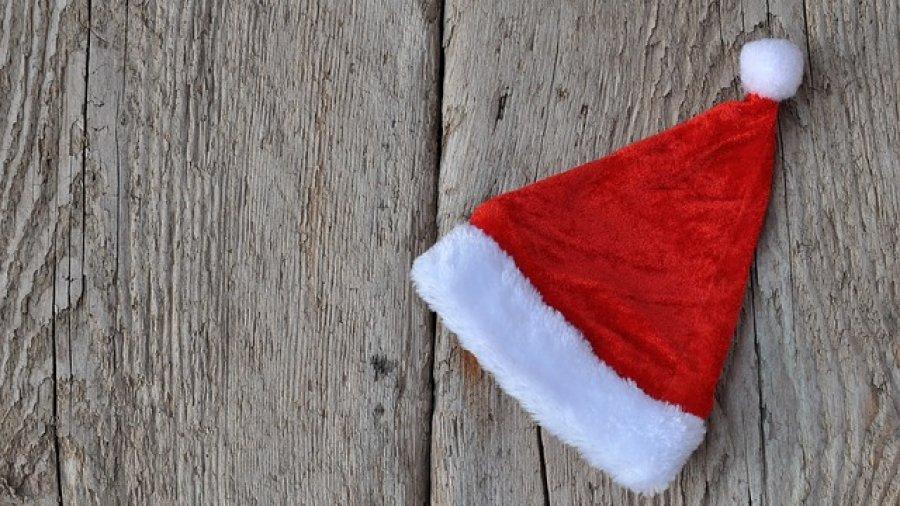 Mütze zum Weihnachtsmann Kostüm