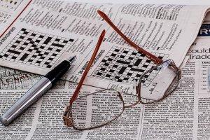 Weihnachtsrätsel als Kreuzwort lösen