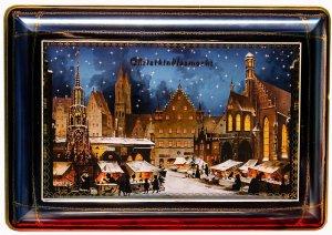 Weihnachtsdose für Gebäck