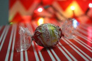 Schokolade: Lindt 1kg Weihnachtsmann